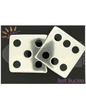 Dice Belt Buckle
